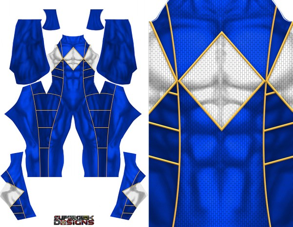 BLUE RANGER (Bat in the sun) pattern file