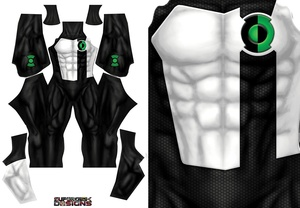 KYLE RAYNER GREEN LANTERN (with pattern) file