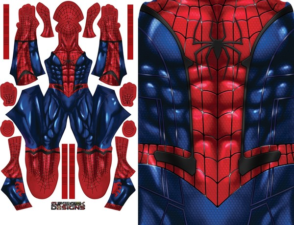 SPIDERMAN DREAM SUIT pattern file