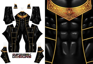 GOLD ZEO RANGER V2 pattern file