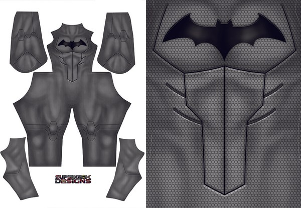 YOUNG JUSTICE BATMAN pattern file