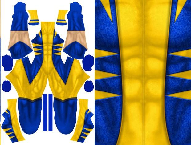 WOLVERINE (plain gloves) pattern file