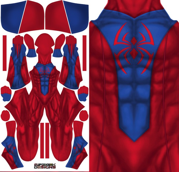 NEW BEN REILLY (attached mask) pattern file