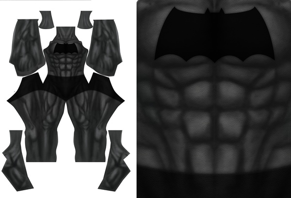 BATMAN DARK KNIGHT RETURNS (version 1) pattern file