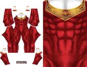 RED ZEO RANGER pattern file