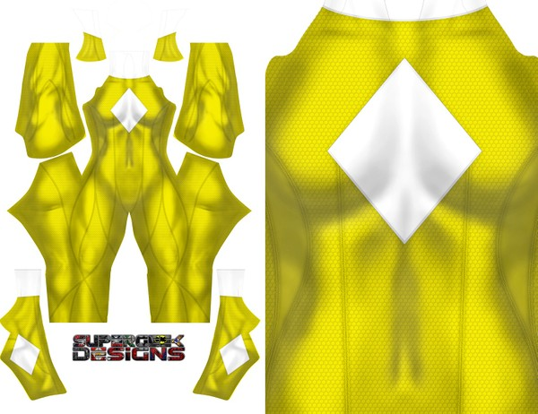 YELLOW RANGER CONCEPT pattern file