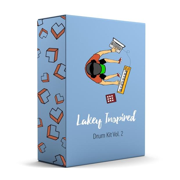 LAKEY INSPIRED Drum Kit Vol  2