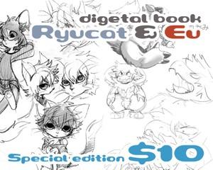 Ryucat & Eu book special edition (include NSFW)
