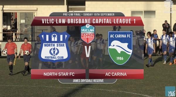Vilic Law CL1 PF North Star v AC Carina