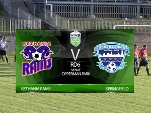 Viva Capital League 3 RD6 Bethania Rams v Springfield Utd