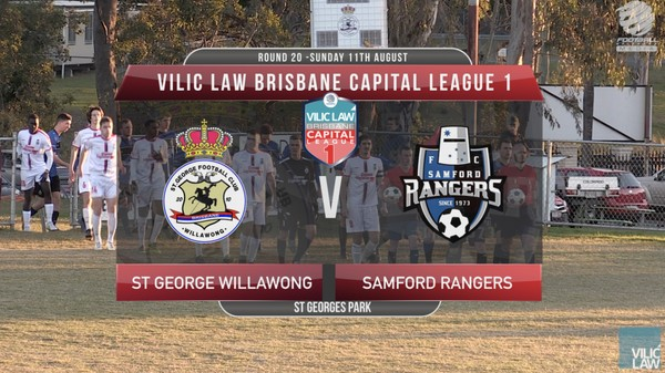 Vilic Law CL1 RD20 St George Willawong v Samford Rangers