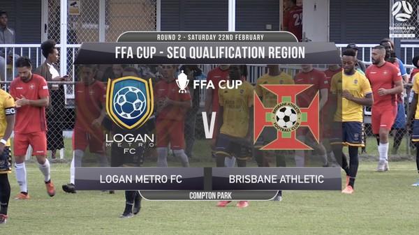 FFA RD2 Logan Metro FC v Brisbane Athletic
