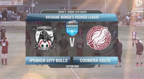 BWPL RD3 Ipswich City Bulls v Coomera Colts