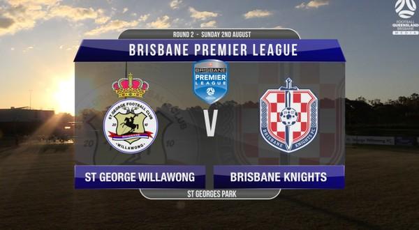 BPL RD2 St George Willawong v Brisbane Knights