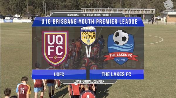 BYPL U16 UQFC v The Lakes FC