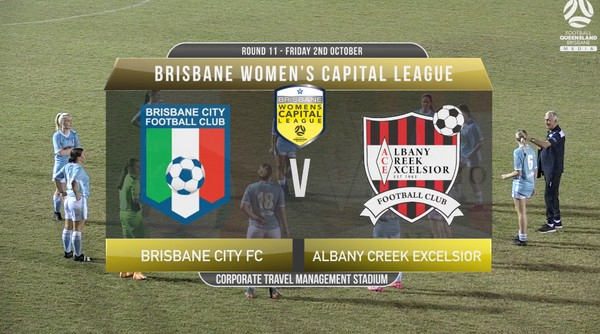 Women's Capital League RD11 Brisbane City FC v Albany Creek Excelsior