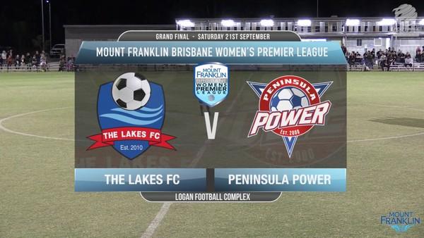 MFBWPL Grand Final The Lakes FC v Peninsula Power