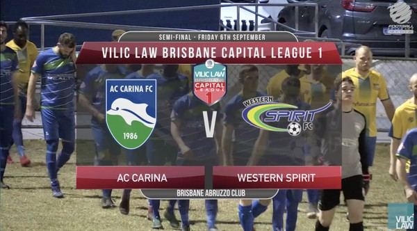 Vilic Law CL1 Semi-Final AC Carina v Western Spirit