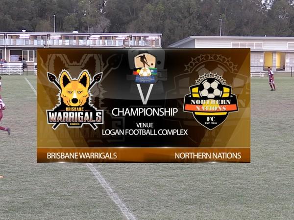 AIFC Day 2 Championship Brisbane Warrigals 1 v Northern Nations