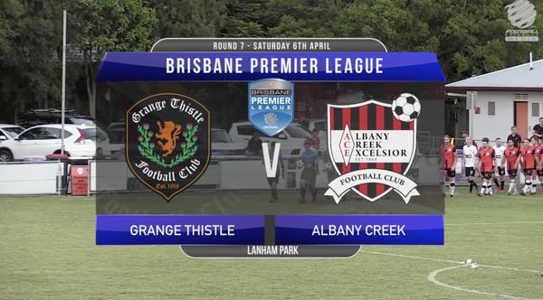 BPL RD7 Grange Thistle v Albany Creek