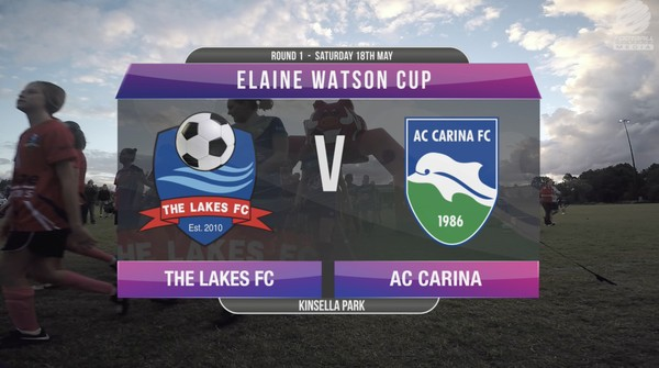 Elaine Watson Cup RD1 The Lakes v AC Carina