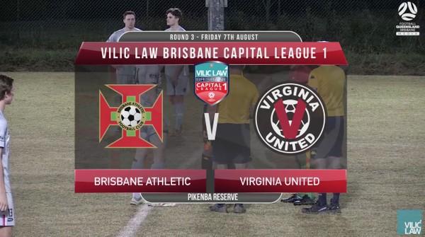 VLCL1 RD3 Brisbane Athletic v Virginia United
