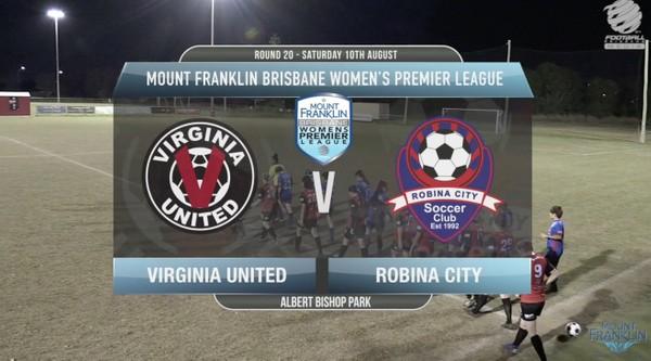 MFBWPL RD20 Virginia United v Robina City
