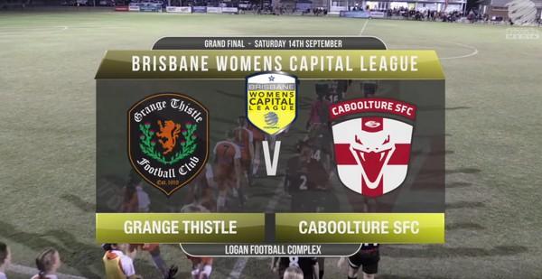 BWCL GF Grange Thistle v Caboolture FC