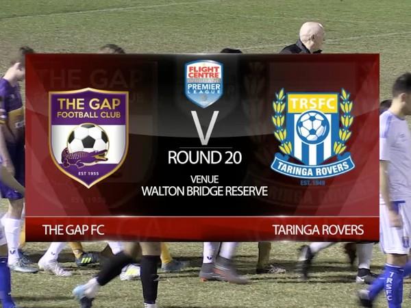 FCBPL RD20 The Gap FC v Taringa Rovers