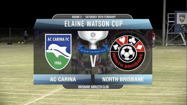 EWC RD2 AC Carina v North Brisbane