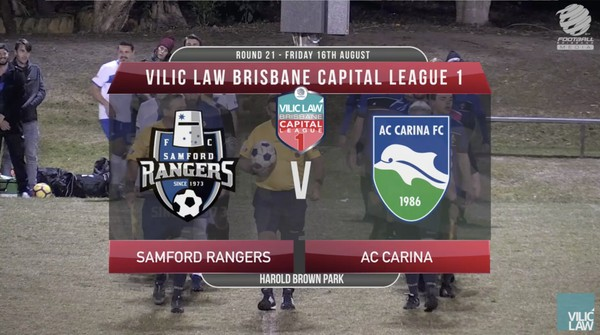 Vilic Law CL1 RD21 Samford Rangers v AC Carina