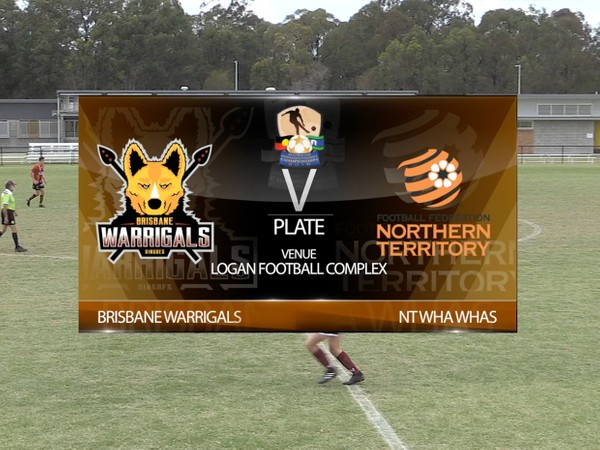 AIFC Plate Brisbane Warrigals 2 v NT Whas Whas