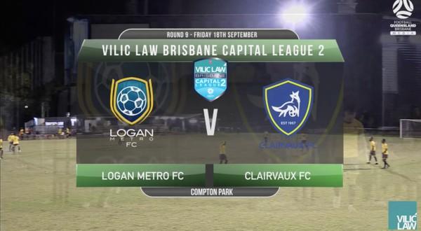 VLCL2 RD9 Logan Metro FC v Clairvaux FC