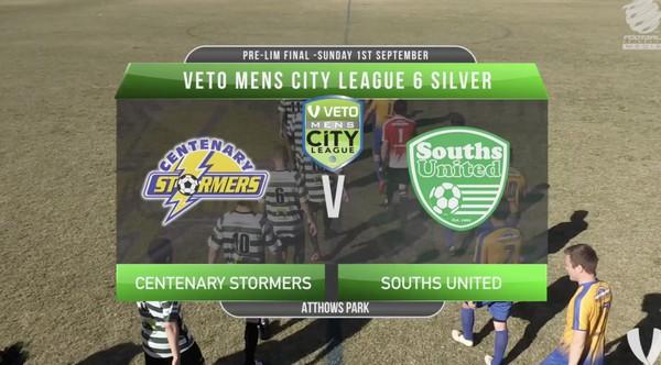 Veto Mens City League 6 Silver Centenary Stormers v Souths United