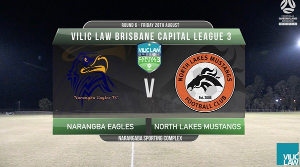 VLCL3 RD6 Narangaba Eagles v North Lakes Mustangs