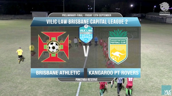 Vilic Law CL2 PF Brisbane Athletic v Kangaroo Pt Rovers