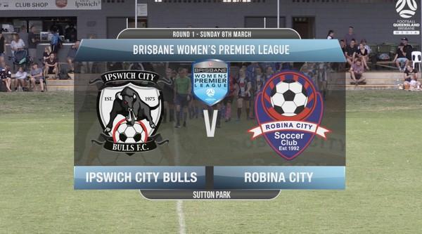 BWPL RD1 Ipswich City Bulls v Robina City