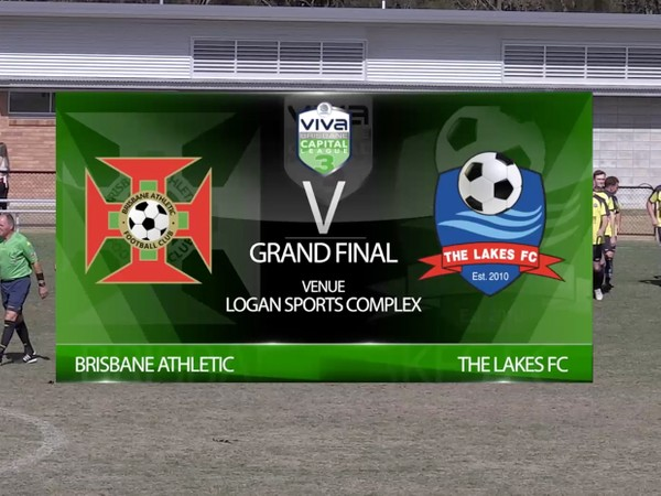 Viva Capital League 3 Grand Final Brisbane Athletic v The Lakes FC