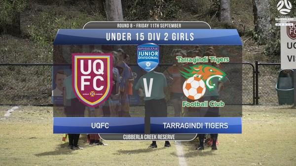 U15 RD8 DIV 2 UQFC v Tarragindi Tigers