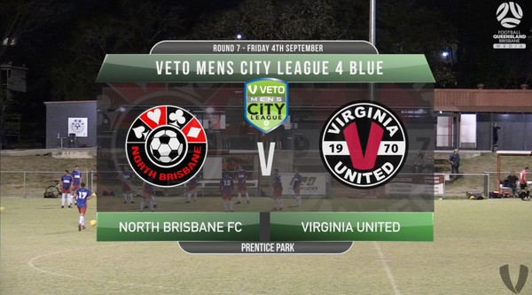 VETO Mens City League 4 Blue RD7 North Brisbane v Virginia United