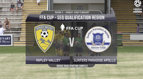 FFA Cup RD2 Ripley Valley v Surfers Paradise Apollo