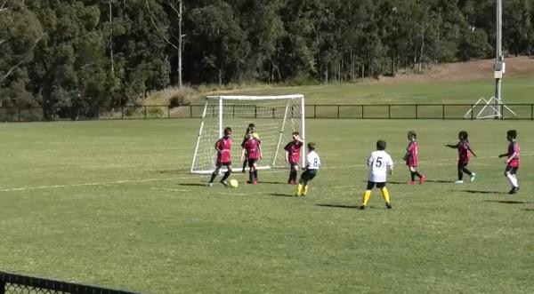 MiniRoos U8 North Pine v The Lakes FC