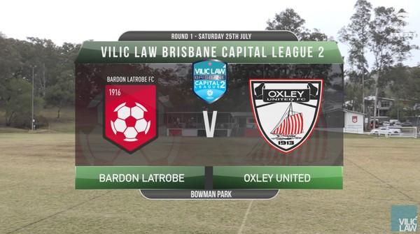 VLCL1 RD1 Bardon Latrobe v Oxley United