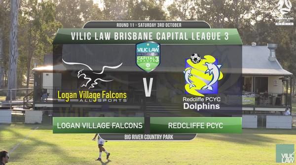 Vilic Law CL3 RD11 Logan Village Falcons v Redcliffe PCYC