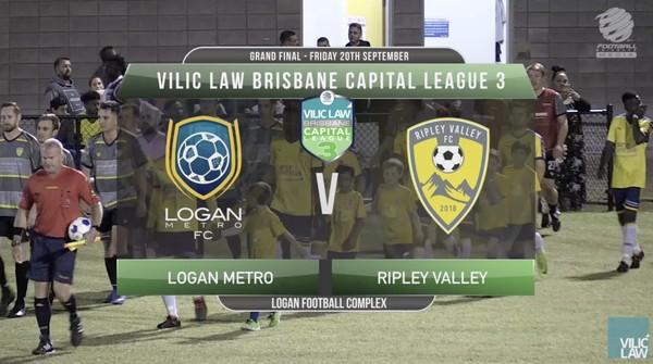Vilic Law CL3 GF Logan Metro FC v Ripley Valley FC