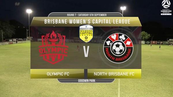 WCL RD7 Olympic FC v North Brisbane FC