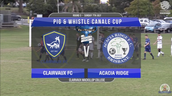 Pig 'N' Whistle Canale Cup RD3 Clairvaux FC v Acacia Ridge