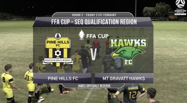 FFA Cup RD2 Pine Hills v Mt Gravatt Hawks