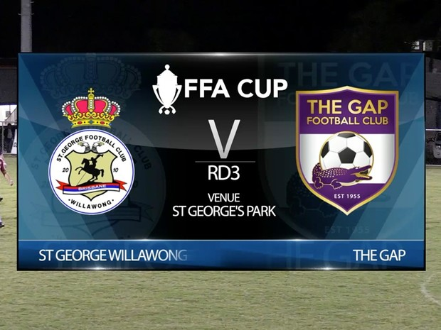 FFA Cup RD3 St George Willawong v The Gap full game