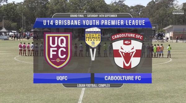 BYPL U14 UQFC v Caboolture FC